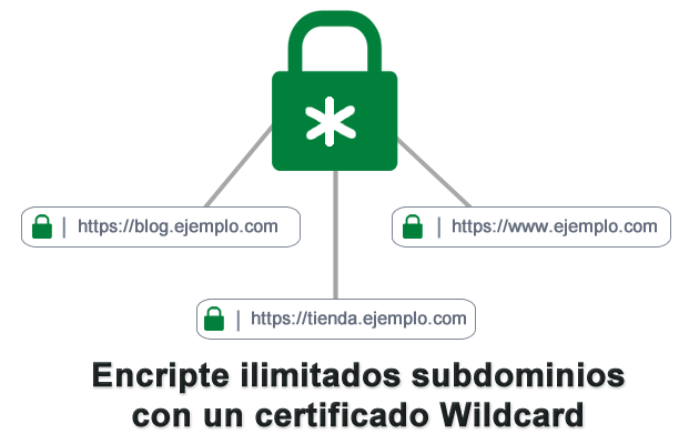 Certificados Digitales  SSL Wildcard
